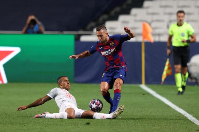 Jordi Alba es un posible fichaje del Atlético