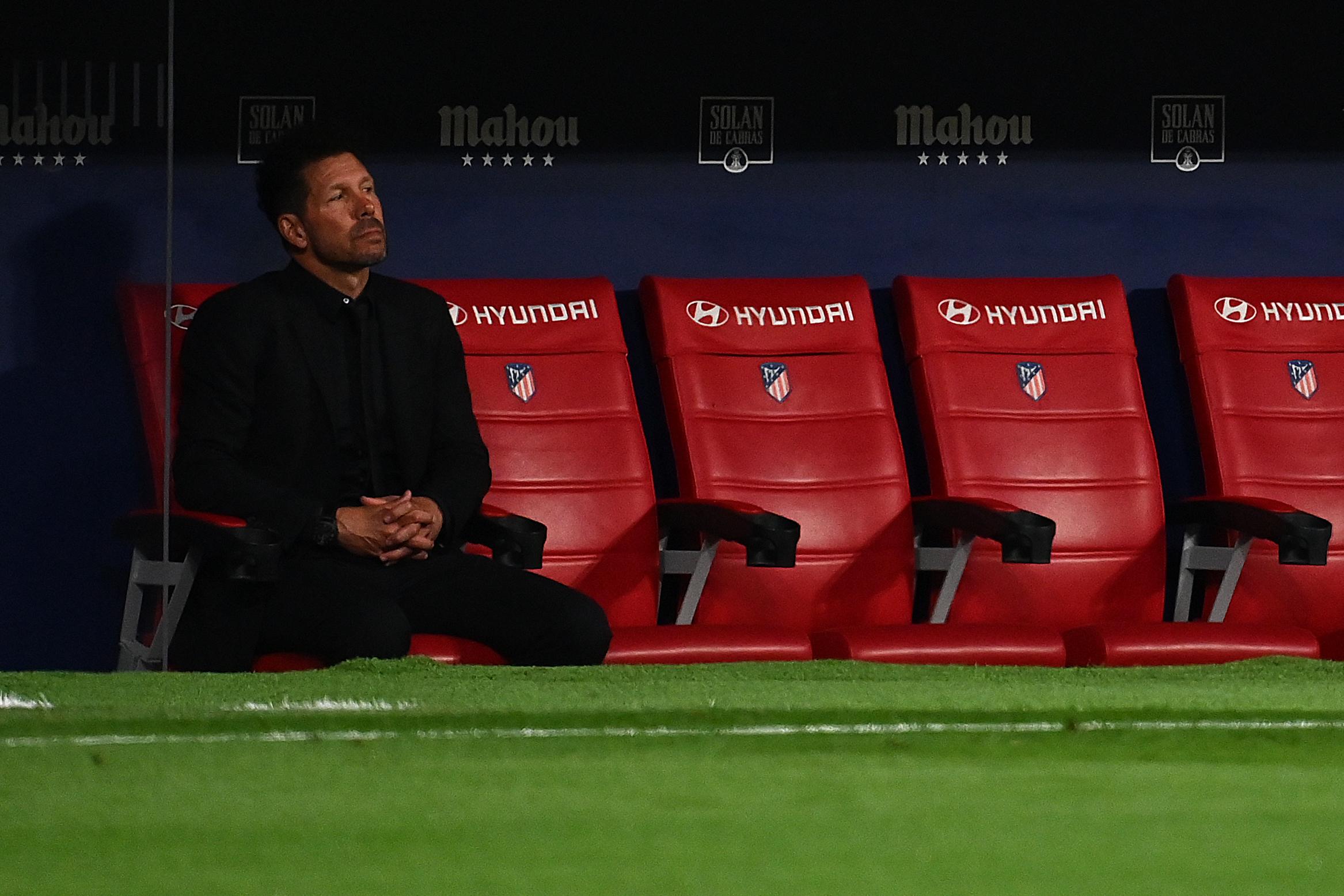 Fichajes: Simeone señala su descarte y el Atlético recibirá 15M