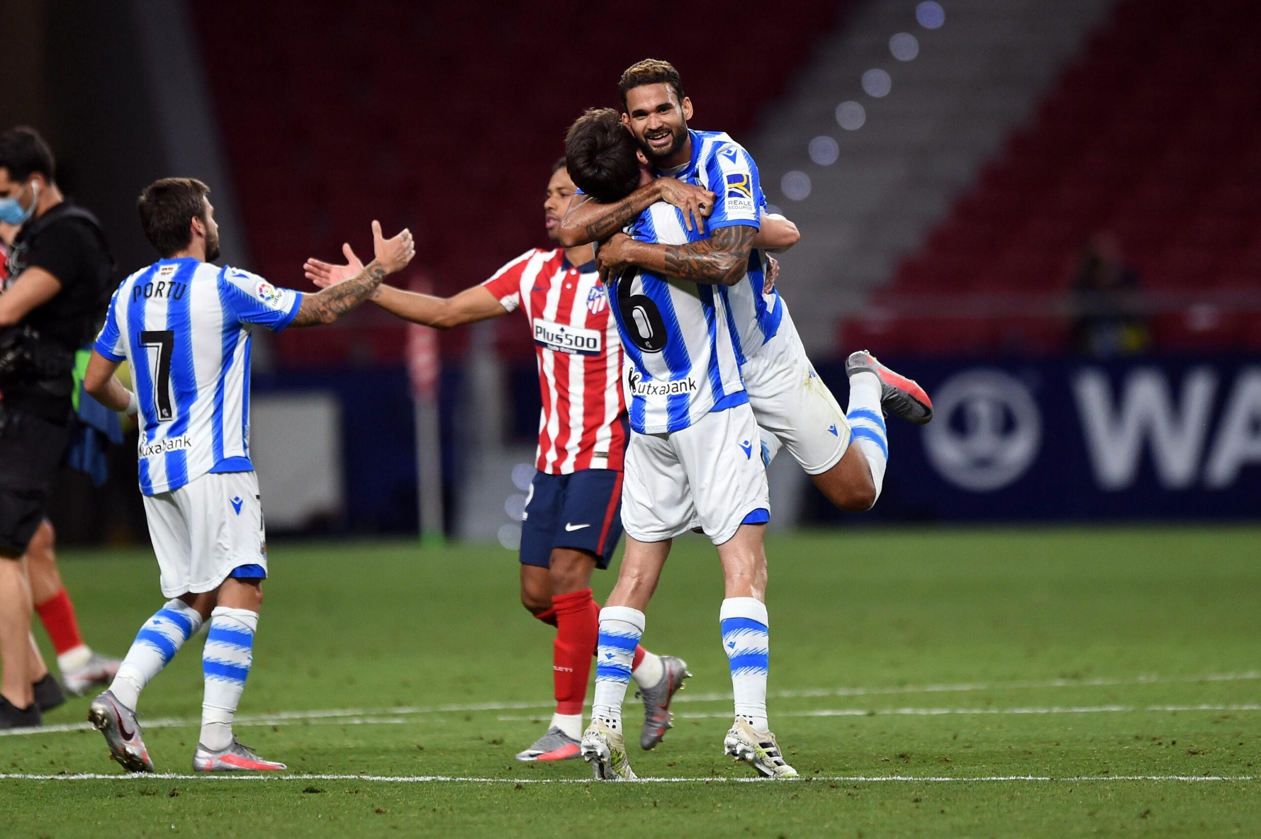 El Atlético de Madrid elige Anoeta como campo alternativo