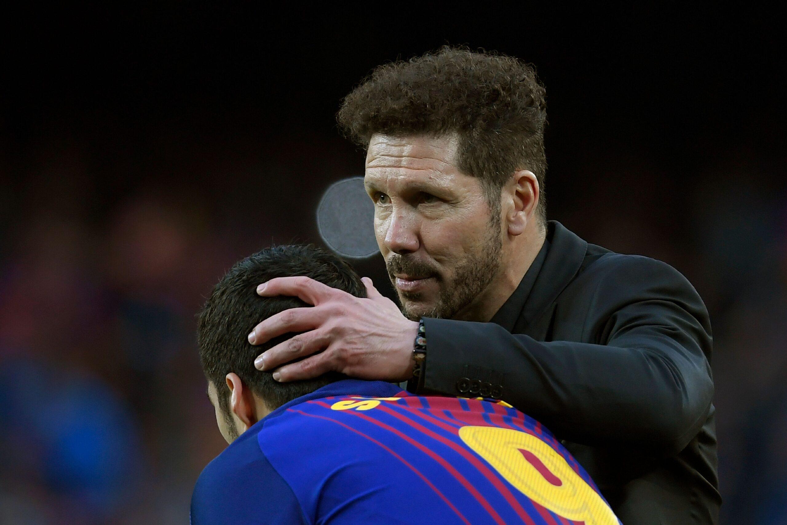 VIDEO: Desvelan qué le dijo Simeone a Suárez para convencerlo
