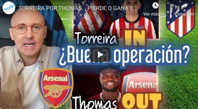 Maldini analiza el cambio Torreira por Thomas: ¿Sale ganando el Atlético?