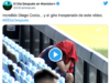 VIDEO: El show de Diego Costa tras la lesión...¡con final inesperado!