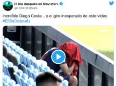 VIDEO: El show de Diego Costa tras la lesión...¡con final inesperado!