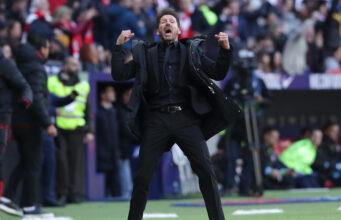 """VIDEO: Simeone cazado en """"plena locura"""" con el 3-2 de Joao"""