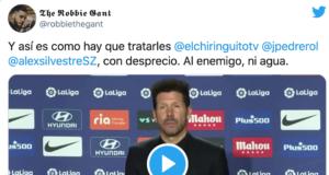 """¡Brutal! Simeone despachó así a """"los del Chiringuito"""""""