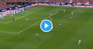 Savic sigue on fire: ¡Vídeo viral de su gran acción defensiva!