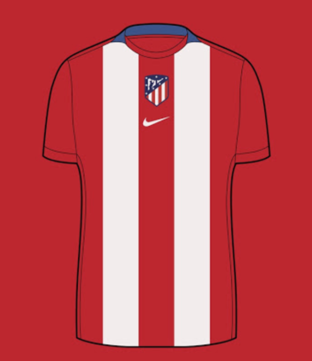 Camiseta de local del Atlético de Madrid 21-22 - Probabilidad ~ 40%