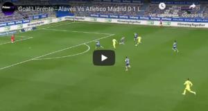 VIDEO: El gol de un imparable Llorente tras un carrerón de 60 metros
