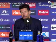 Simeone: La respuesta viral cuando la UEFA elogia al Atlético