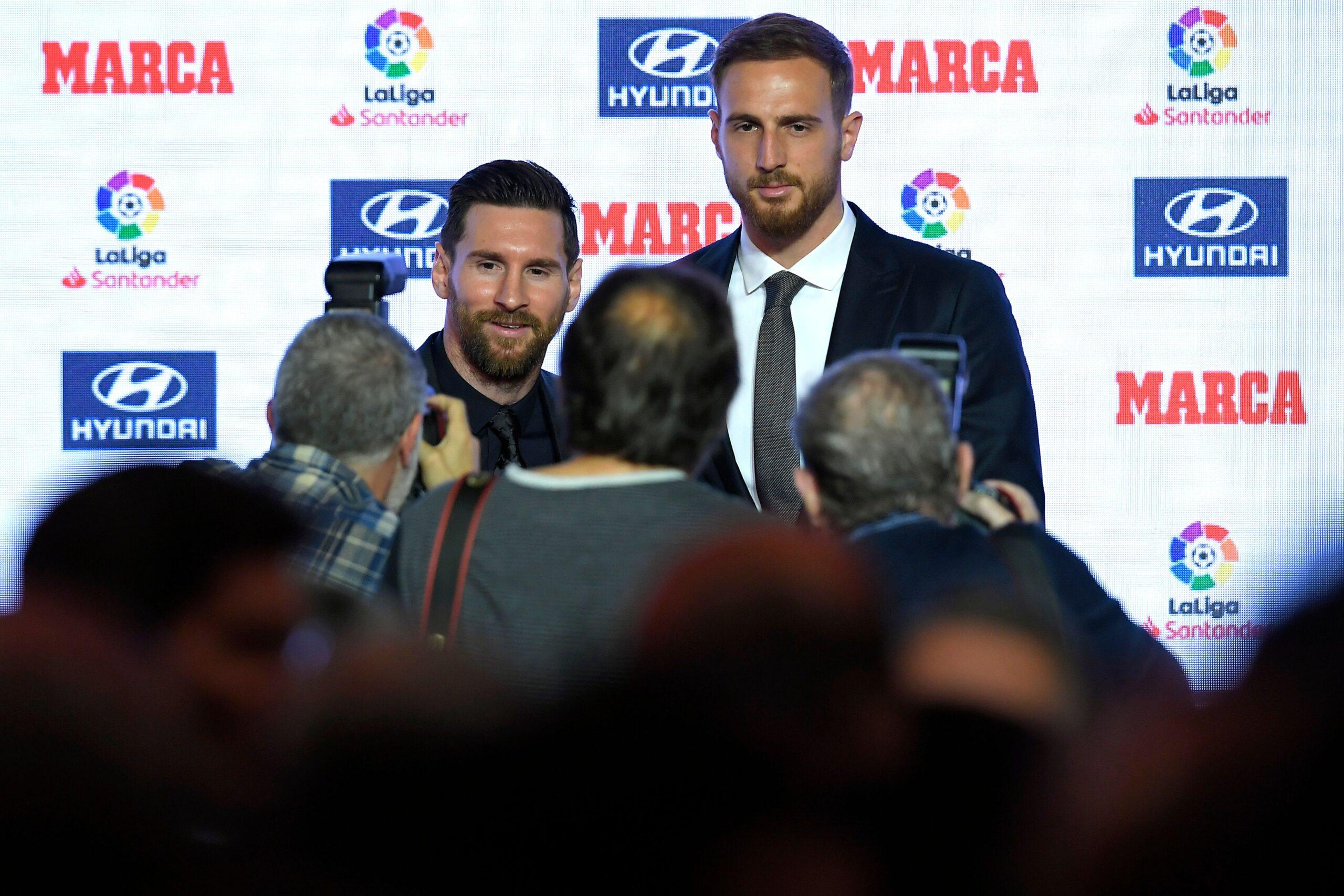 VIDEO: El guiño de Oblak a Messi para que fiche por el Atlético