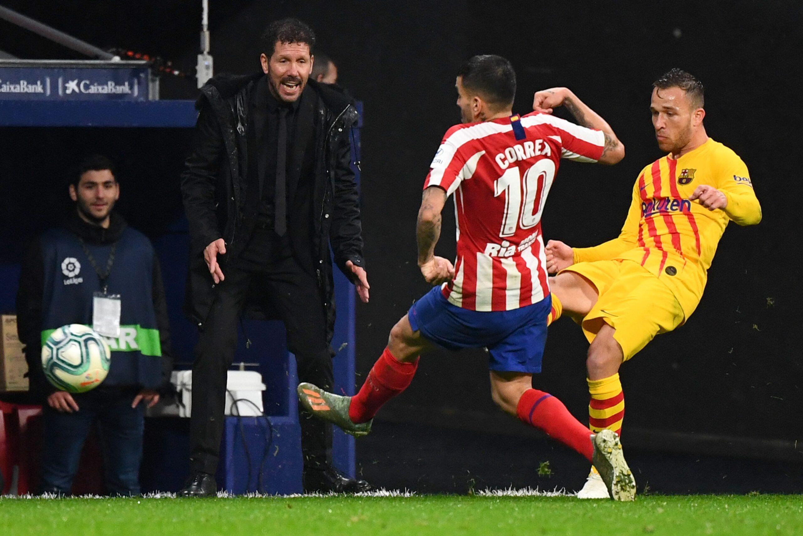 Correa desvela el plan de futuro que tiene Simeone