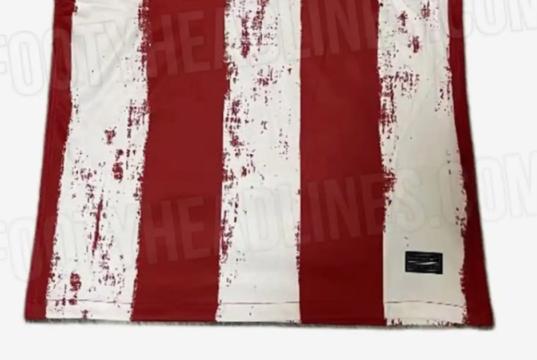 Atlético:Filtrada la esperpéntica camiseta local para la 2021/2022