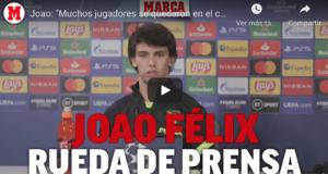 """VIDEO: Joao Félix envía un """"recadito"""" antes de jugar con el Chelsea"""