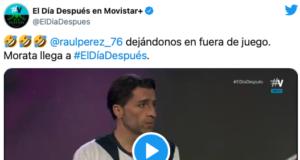 La genial imitación de Morata en El Día Después de Raúl Pérez