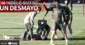 VIDEO: Dembélé se desmaya y protagoniza el gran susto del entrenamiento