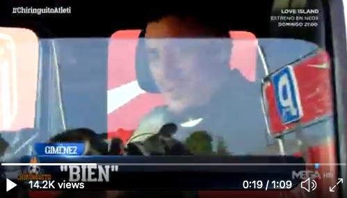 VIDEO: Giménez se mostró muy optimista tras la conjura