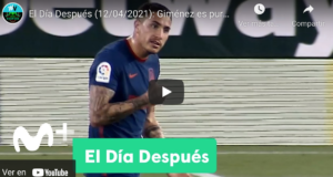 VIDEO: Giménez captado por Movistar+