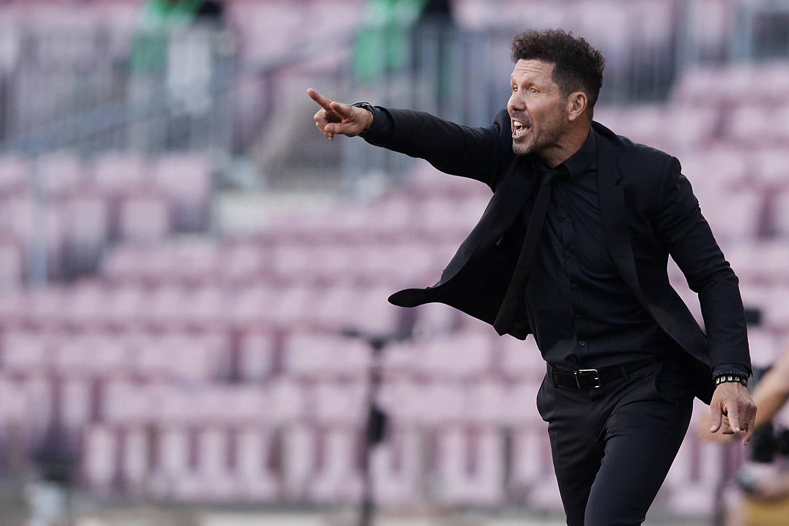 VIDEO: Tremendo zas de Simeone a un periodista de Marca