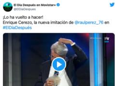 VIDEO: La genial imitación de Raúl Pérez.... a Enrique Cerezo