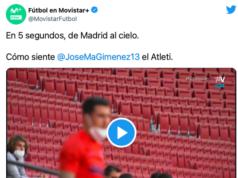 Giménez es puro Atleti: vídeo de cómo corrió lesionado a celebrar el gol
