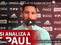 VIDEO: Messi pone por las nubes a De Paul, inminente fichaje del Atlético