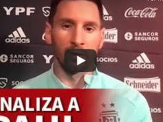 VIDEO: Messi pone por las nubes a De Paul, la nueva incorporación de Simeone
