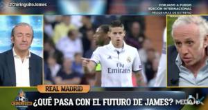 James, posible fichaje del Atlético.