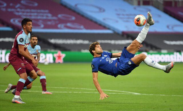 Marcos Alonso, posible fichaje del Atletico
