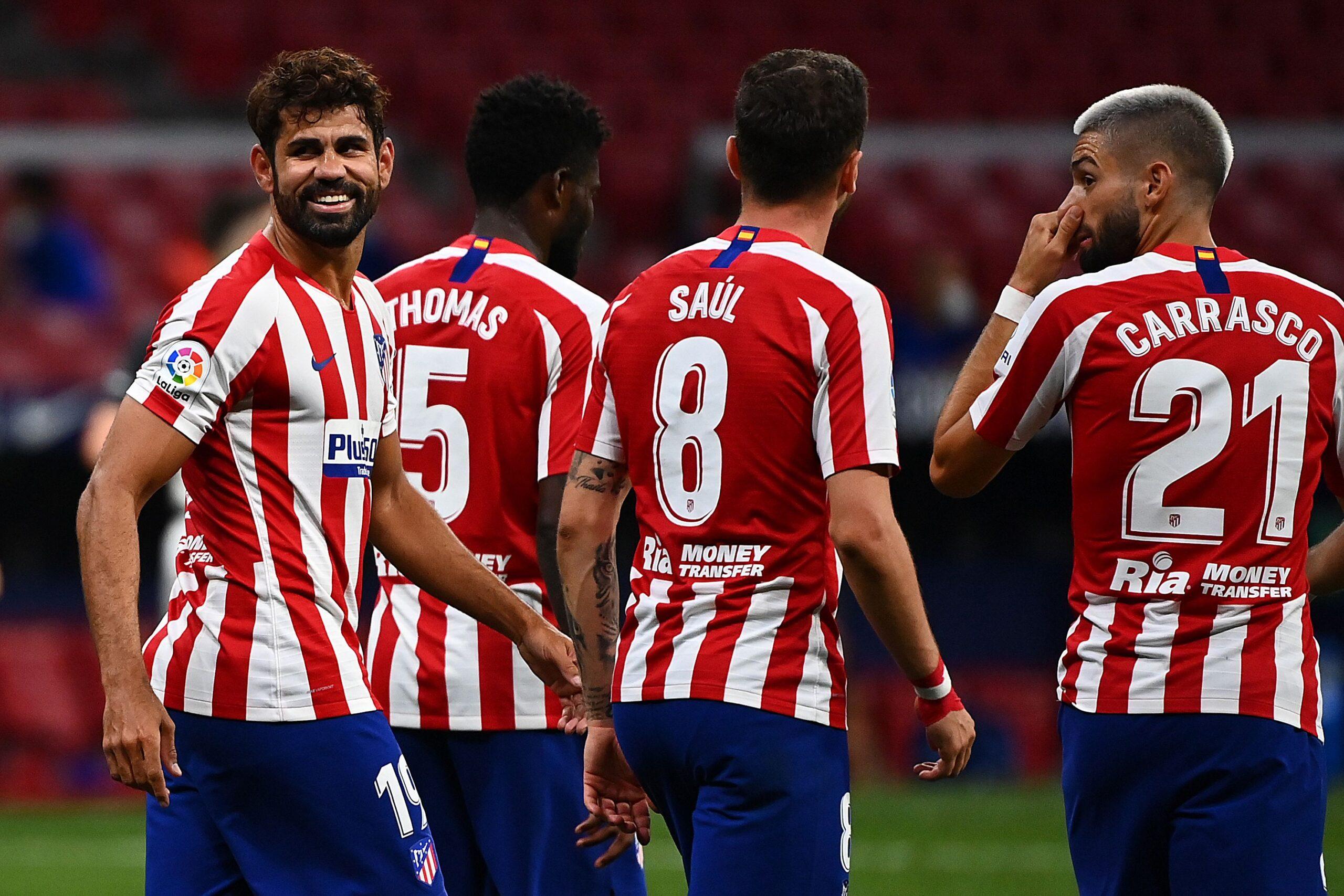 Atlético contra el Alavés.