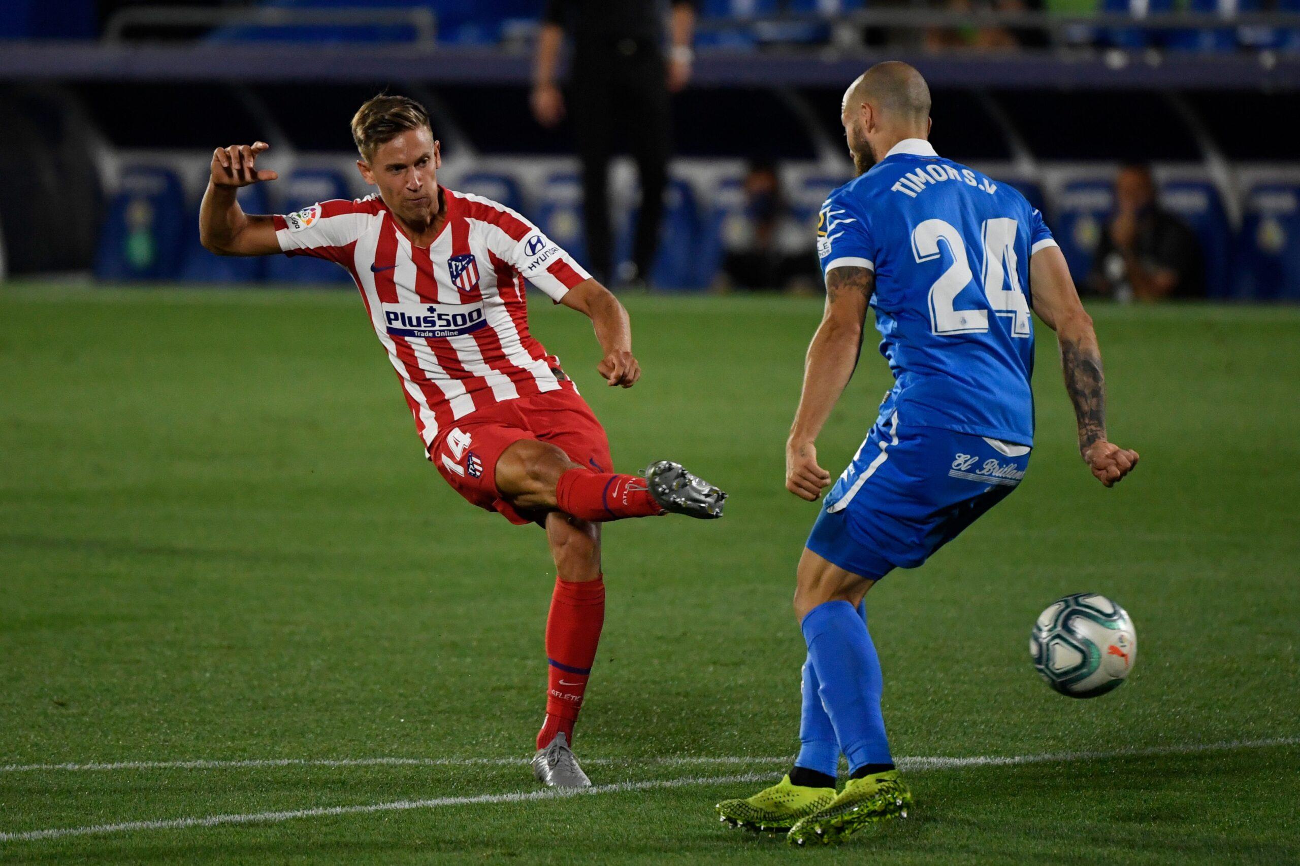 Resumen Getafe - Atlético de Madrid: vídeo de los goles 1