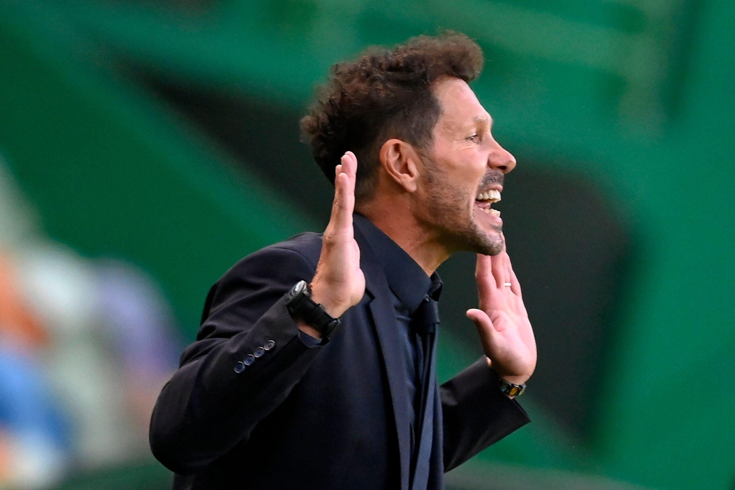 VIDEO: Simeone explica las razones de la eliminación
