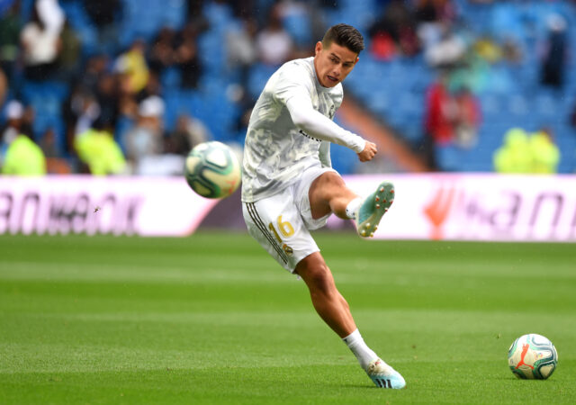 James, dejará Real Madrid por Atlético.